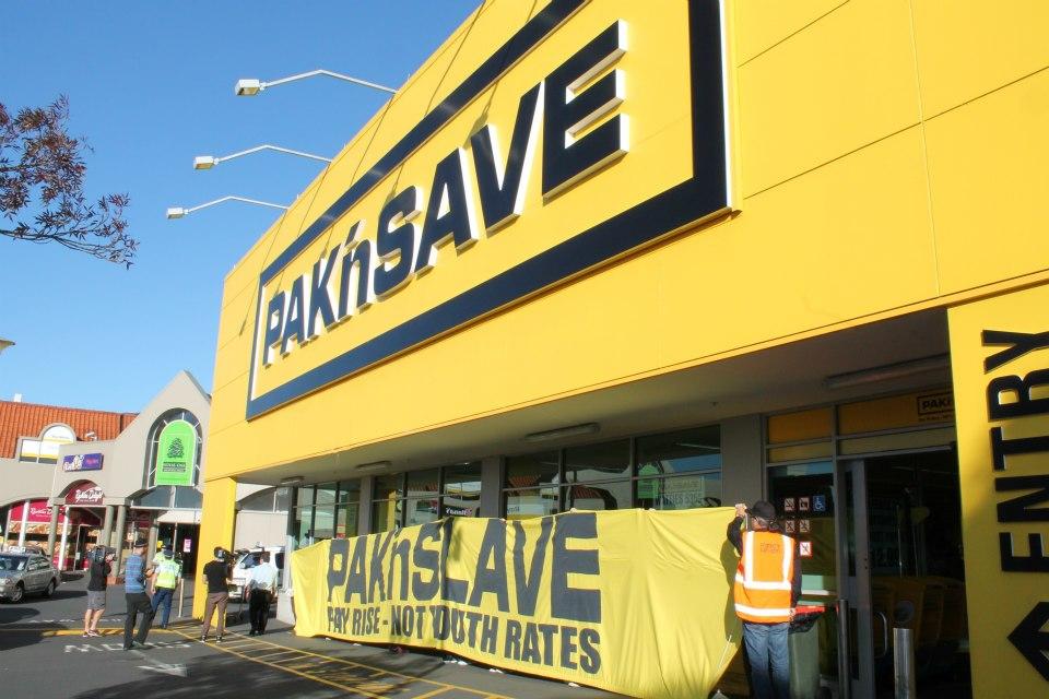 Pak'n'Save? More like Pak'n'SLAVE!