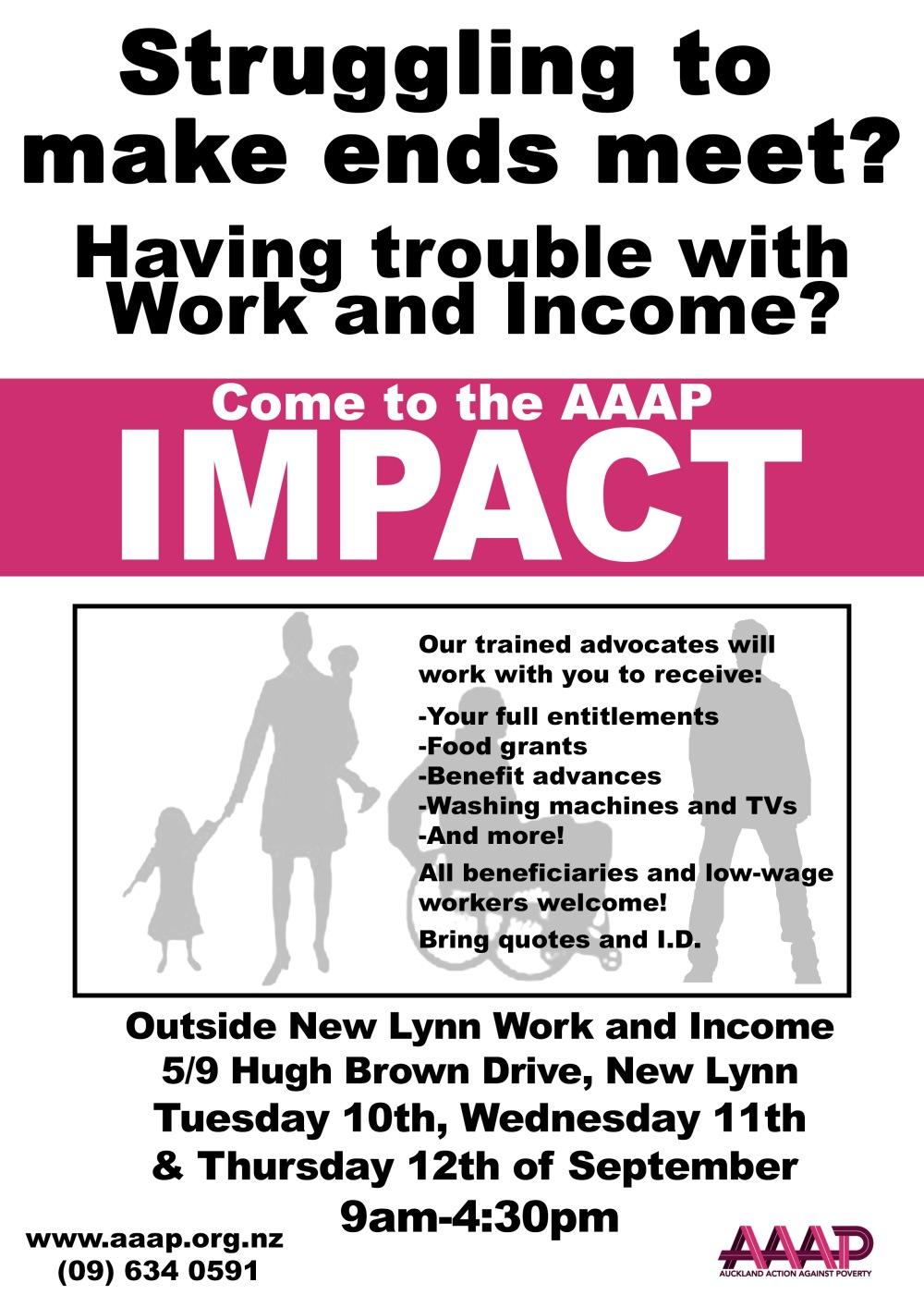 Impact - Beneficiary Advocacy