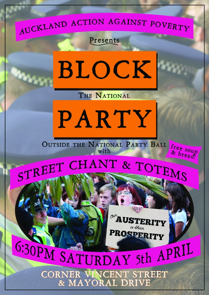AAAP to hold Block Party at Young Nats Ball 5 April